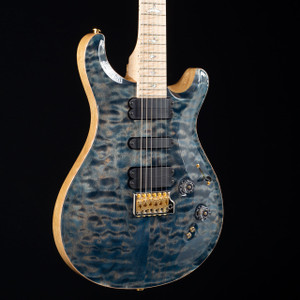 PRS 509 10 Top Flame Maple Wood Library Faded Whale Blue 5770