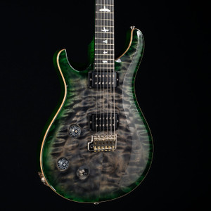 PRS Custom 22 Lefty 10 Top Flame Maple Neck Wood Library Charcoal Jade Burst 5253