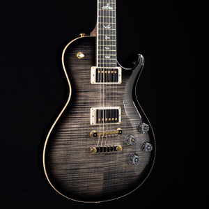 PRS McCarty Singlecut 594 10 Top Rosewood Neck Wood Library Charcoal Contour Burst 6932