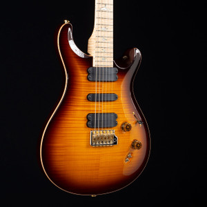 PRS 509 10 Top Flame Maple Wood Library McCarty Tobacco Sunburst 6474