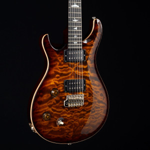 PRS Custom 22 Lefty 10 Top Flame Maple Neck Wood Library Black Gold Burst 5472
