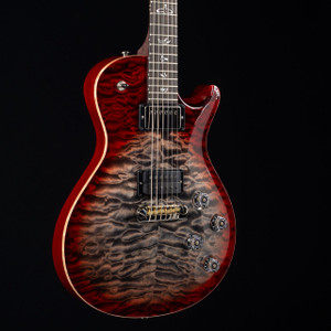 PRS Tremonti 10 Top ADJ Stoptail Wood Library Charcoal Cherry Burst 6302