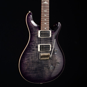 PRS Custom 24 Katalox Fretboard Charcoal Purple burst 7699