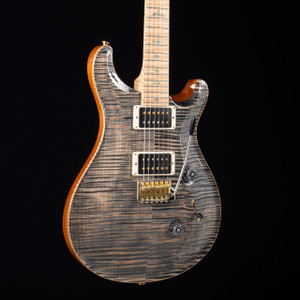 PRS 2017 Custom 24 Flame Maple Artist Faded Whale Blue W/OHSC USED 3448