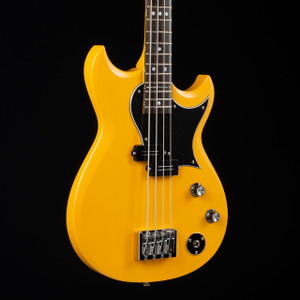 Reverend Mike Wattplower Bass Yellow Satin W/ Hardshell Case 2170