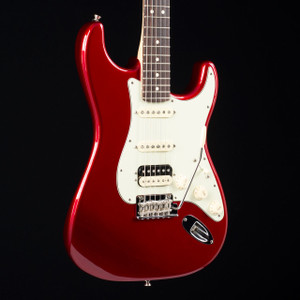 Fender 2017 American Professional Stratocaster HSS Shaw Candy Apple Red W/OHSC 5578 USED