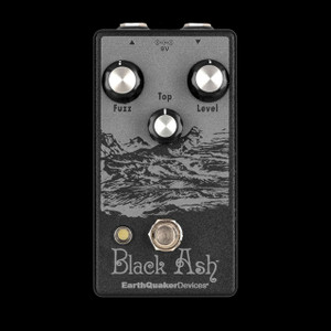 EarthQuaker Devices Black Ash Endangered Fuzz Pedal