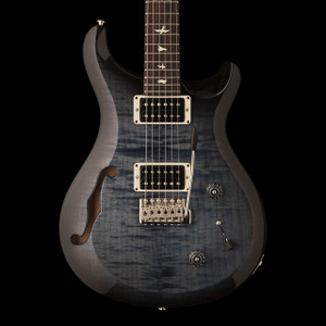 Pre-Order PRS 2019 S2 Custom 22 Semi-Hollow Faded Blue Smokeburst ($1799) 60% Deposit