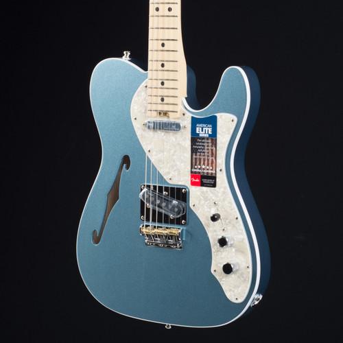Fender elite telecaster thinline blue fender guitar fender american elite telecaster thinline mystic ice blue 0579 publicscrutiny Gallery