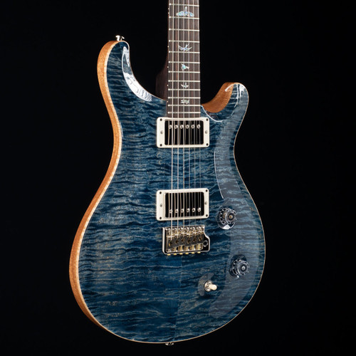 PRS Custom 22 10 Top Rosewood Neck Wood Library Faded Whale Blue 3511