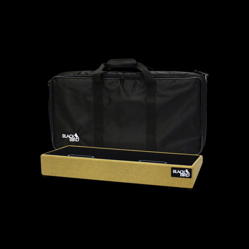 Blackbird 1224 Tolex Tweed Pedalboard With Soft Case