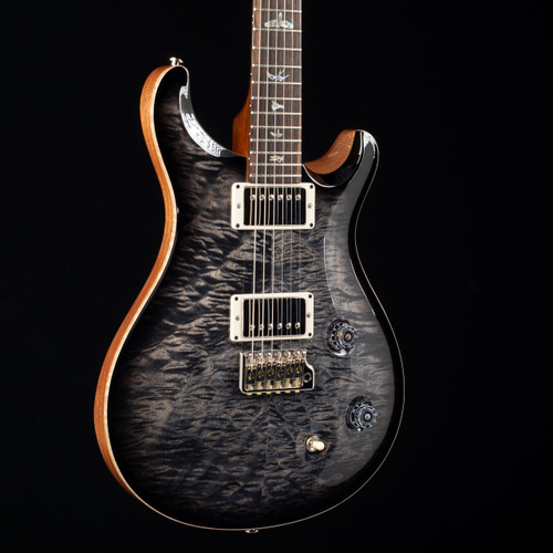 PRS Custom 22 10 Top Mun Ebony Fretboard Wood Library Charcoal Burst 6249