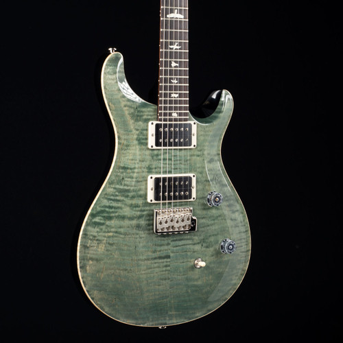 PRS CE 24 Satin Black Neck Trampas Green 3203