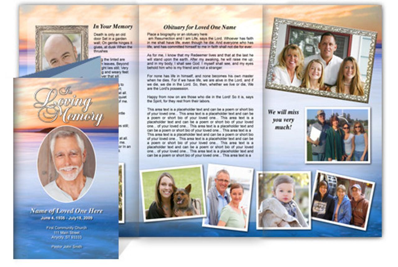 legal size tri fold brochure template - dusk tri fold brochure template legal size the funeral