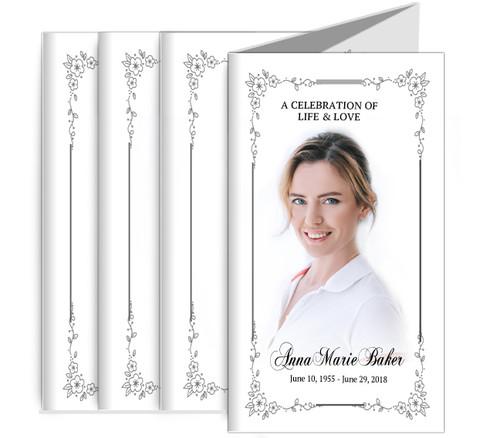 Flourish Frame Trifold Brochure Full Service Design & Print