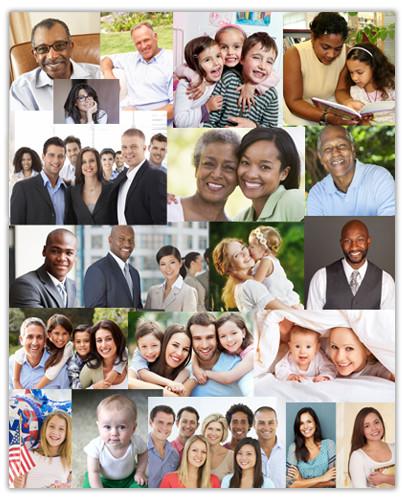 Full Page Photo Collage Customization Service