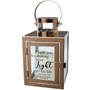 Personalized Your Light Rose Gold Metal Lantern