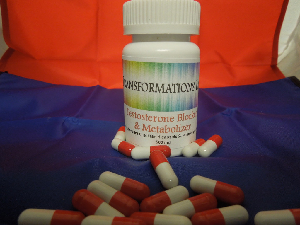 Testosterone Blocker & Feminizer