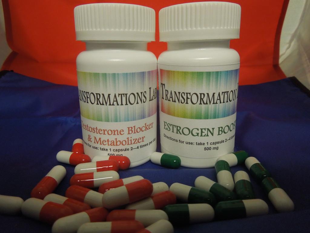 Testosterone Blocker & Estrogen Booster Twin Pack