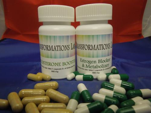 Testosterone Blocker & Estrogen Pill Feminizer