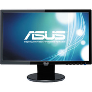 "ASUS VE198TL 19"" LED LCD Monitor - 16:9 - 5 ms,Adjustable Display Angle - 1440 x 900 , 16.7 Million Colors , 250 Nit , 10,000,000:1 , WXGA+"