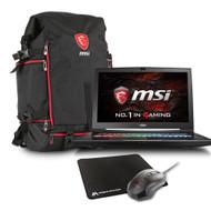 "MSI GT73VR TITAN 4K-480 17.3"" 4K Gaming Laptop - Core i7-7820HK (Kaby Lake),  GTX1070 8G GDDR5, 16GB RAM, 256GB SSD + 1TB HDD, Windows 10, VR-Ready"