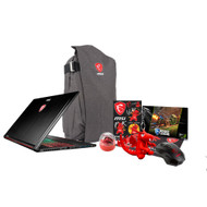 "MSI GS73VR STEALTH PRO-224 17.3"" Gaming Laptop - Core i7-7700HQ Kabylake, 16GB RAM, 2TB HDD + 256 SSD, GTX1060 6G VRAM, VR Ready"