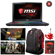 "MSI GP62MVR Leopard Pro-408 15.6"" Gaming Laptop - Intel Core i7-7700HQ (Kaby Lake), GTX1060, 16GB DDR4,  256GB SSD + 1TB HDD, Win 10"