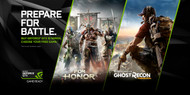 Nvidia For Honor or Ghost Recon Wildlands Digital Code (Promotional Item Only)
