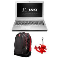 """MSI PL60 7RD-002 15.6"""" Professional Laptop - Intel Core i7-7500U, GTX1050, 16GB DDR4, 128GB SSD +1TB, Win10 PRO"""