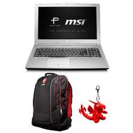 """MSI PE60 7RD-059 15.6"""" Professional Laptop - Intel Core i7-7700HQ, GTX1050, 16GB DDR4, 128GB SSD +1TB, Win10 PRO"""