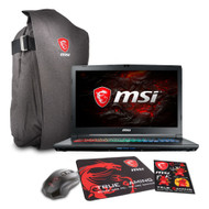"""MSI GP72X Leopard Pro-622 17.3"""" Gaming Laptop - Intel Core i7-7700HQ, GTX1050TI, 16GB DDR4, 256GB NVMe SSD +1TB, Win10, VR Ready"""