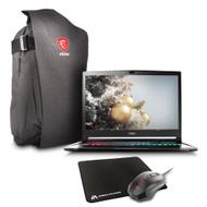 "GS73VR STEALTH PRO-033 17.3"" MAX Q Gaming Laptop - Core i7-7700HQ Kabylake, 32GB RAM, 1TB HDD + 512 SSD, GTX1070 8G VRAM, VR Ready, Win 10 Pro"