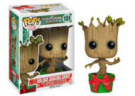 Funko POP! Marvel Guardians of the Galaxy Holiday Dancing Groot Vinyl Figure Toy #101