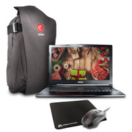 "MSI GE63VR Raider-075 15.6"" Gaming Laptop - Intel Core i7-7700HQ, NVIDIA GTX 1070, 16GB DDR4, 128GB SSD +1TB HDD,  Win10 Home, VR Ready"