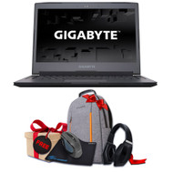"GIGABYTE Aero 14Kv7-BK4 14"" QHD VR Ready Gaming Laptop - Intel Core i7-7700HQ 2.8GHz, GTX 1050 Ti 4GB, 16GB RAM, 256GB SSD, Win10 (Black)"
