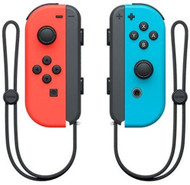 Nintendo Switch Joy Con Left Right Neon Red & Neon Blue