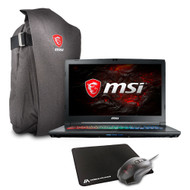 "MSI GP72MX Leopard Pro-1213 17.3"" Gaming Laptop - Intel Core i7-7700HQ, GTX1050Ti, 16GB DDR4, 256GB NVMe SSD + 1TB HDD, Win10, VR Ready"