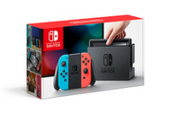 Nintendo Switch 32GB Console - Neon Blue and Neon Red Joy Con