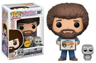 Funko Pop TV Bob Ross S2 - Bob Ross and Hoot (baby Owl) Vinyl Figure Chase Limited Edition