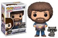 Funko Pop TV Bob Ross with Raccoon Collectible Figure