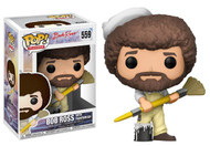 Funko Pop TV Bob Ross in Overalls Collectible Figure