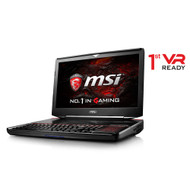 "MSI GT83 TITAN-014 18.4"" Desktop Performance Gaming Laptop - Intel Core i7-8850H, GTX1080 SLI, 32GB DDR4, 512GB NVMe SSD RAID +1TB,  Mechanical Keyboard, Win 10, VR Ready"