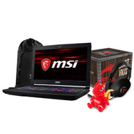 "MSI GT63 TITAN-046 15.6"" Gaming Laptop - Intel Core i7-8750H,GTX1080, 16GB DDR4, 256GB NVMe SSDm +1TB HDD, Win 10 PRO, VR Ready"