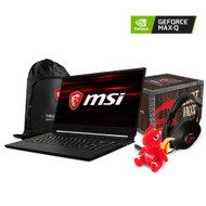 "MSI GS65 Stealth Thin-053 15.6"" Gaming Laptop - Intel Core i7-8750H, NVIDIA®  GeForce® GTX 1070 with Max-Q Design, 32GB DDR4, 512GB NVMe SSD,  Win10PRO, VR Ready, 144Hz 7ms"