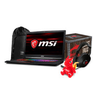 "MSI GE73 Raider RGB-013 17.3"" Gaming Laptop - Intel Core i7-8750H, GTX1060, 16GB DDR4, 256GB SSD +1TB, Win10, VR Ready"