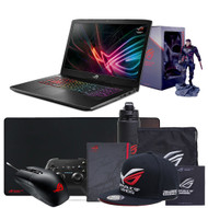 "ASUS ROG Strix GL703GM-DS74 Scar Edition 17.3"" Gaming Laptop - Core i7-8750H, GTX 1060 6GB, 120Hz 3ms display, 16GB DDR4, 256GB PCIe SSD + 1TB SSHD, Coffee Lake"