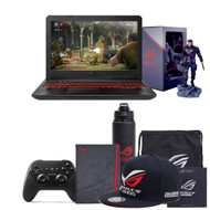 "ASUS FX504GD-RS51 15.6"" Gaming Laptop -Core i5-8300H, 8GB RAM, GTX 1050 2GB, 1TB SSHD, Win 10, Coffee Lake"