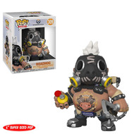 "Funko Pop Games: Overwatch S3 Road Hog 6"" Vinyl Collectible Toy Figure"