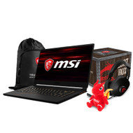 "MSI GS65 Stealth Thin-051 15.6"" Ultra Thin Gaming Laptop - Intel Core i7-8750H, 144Hz, GTX1060, 16GB DDR4, 256GB NVMe SSD, Win10, VR Ready"